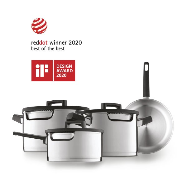 Downdraft cookware