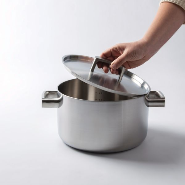 Covered casserole 5-ply 22 cm - Ron