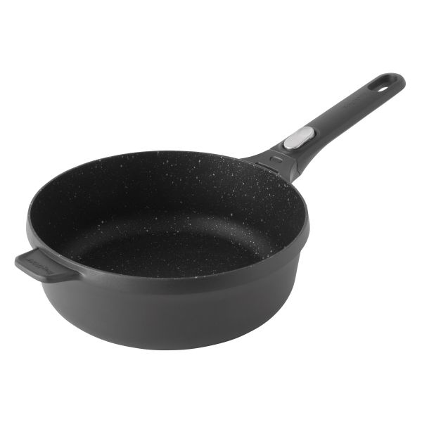 Covered sauté pan 24 cm - Gem