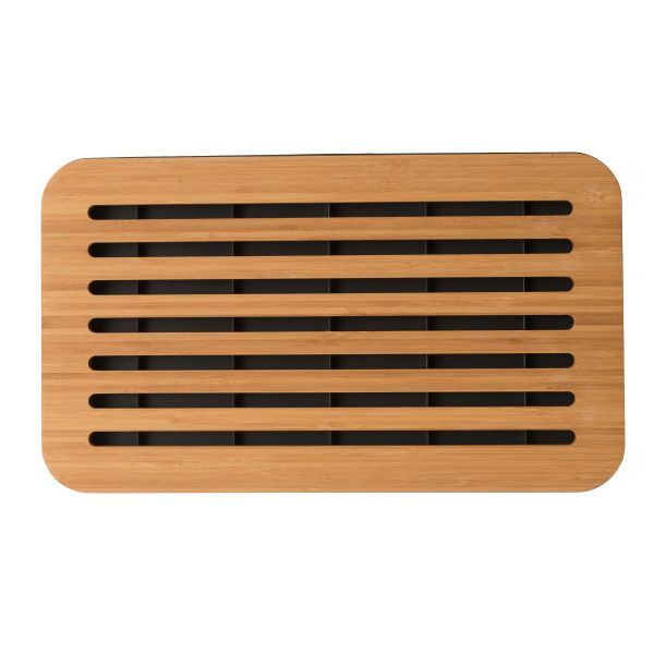 Multifunctional two-sided cutting board with crumb tray - Ron