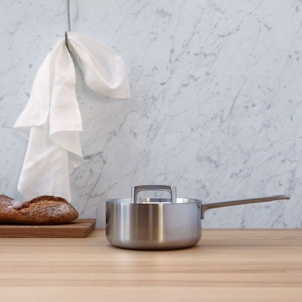 Covered saucepan 5-ply 18 cm - Ron