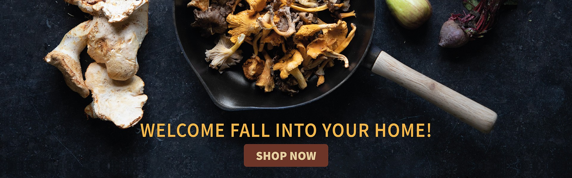 Welcome fall into your home